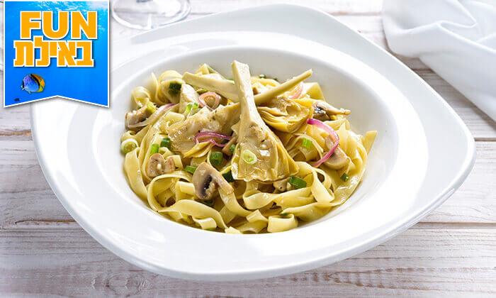 8 ארוחה זוגית בלה סרדין, מסעדת דגים במרינה אילת