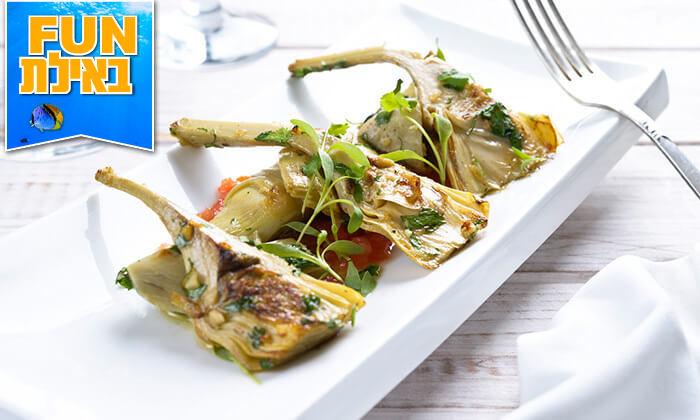 15 ארוחה זוגית בלה סרדין, מסעדת דגים במרינה אילת