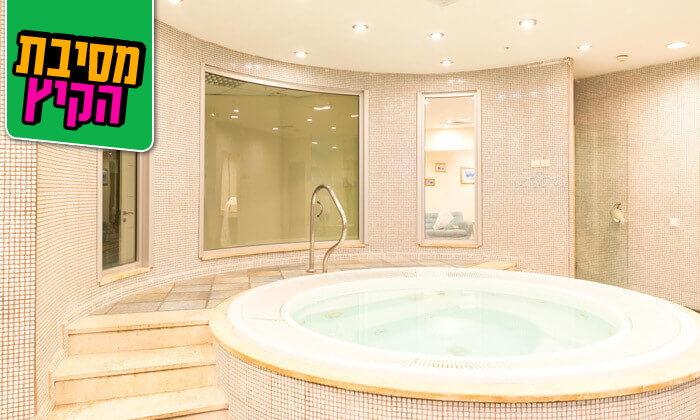 12 יום ספא ב-SeaSide SPA - מלון הרלינגטוןאשקלון