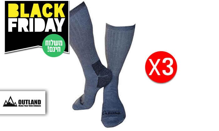 2 שלושה זוגות גרביים תרמיים OUTLAND - משלוח חינם!