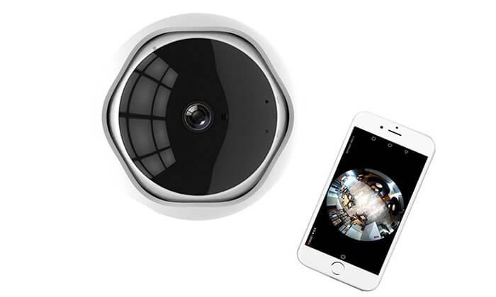 4 מצלמת אבטחה IP אלחוטית