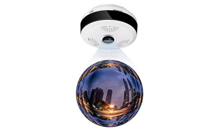 5 מצלמת אבטחה IP אלחוטית