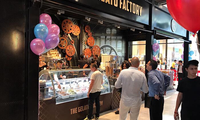 7  גלידה בג'לאטו פקטורי הכשרה, קניון ראשונים ראשון לציון