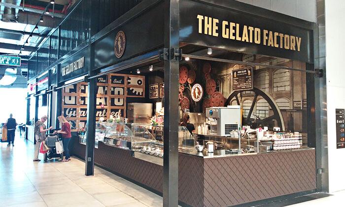 2  גלידה בג'לאטו פקטורי הכשרה, קניון ראשונים ראשון לציון