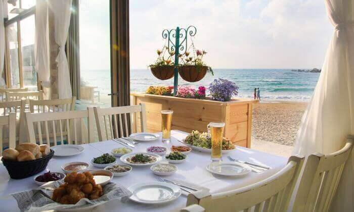 7 ארוחה זוגית במסעדת בני הדייג, כפר הים, חדרה