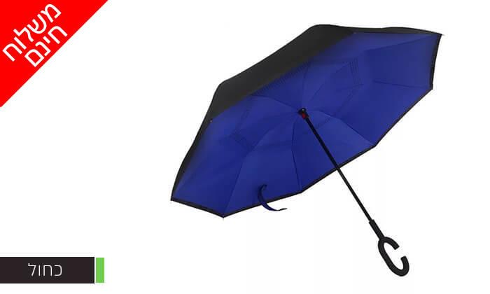 8 זוג מטריות מתהפכות שלא מטפטפות - משלוח חינם