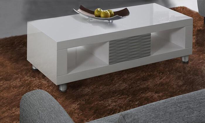 2 שולחן סלון מעוצב