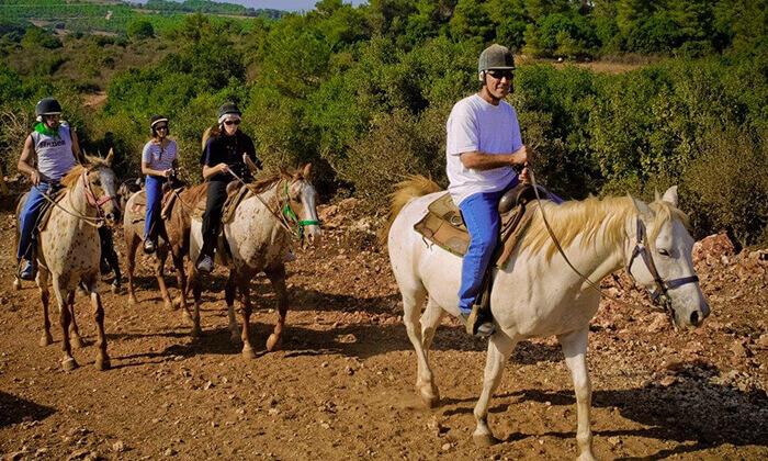 8 חוויית הרוכבים בבית אורן - יום כיף למשפחות