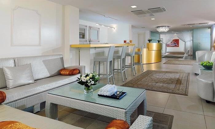 4 עיסוי יחיד וזוגי בסיילו ספא, מלון שרתון תל אביב