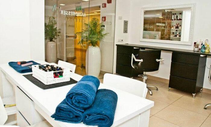 7 עיסוי יחיד וזוגי בסיילו ספא, מלון שרתון תל אביב