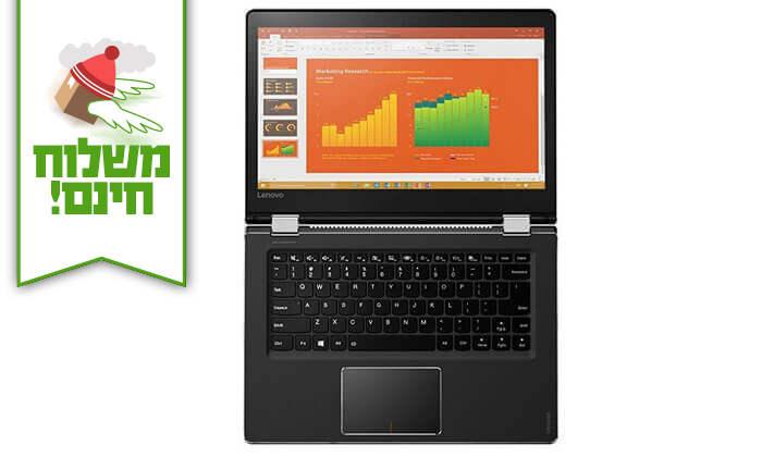 """5 מחשב נייד לנובו Lenovo עם מסך מגע """"14 - משלוח חינם!"""