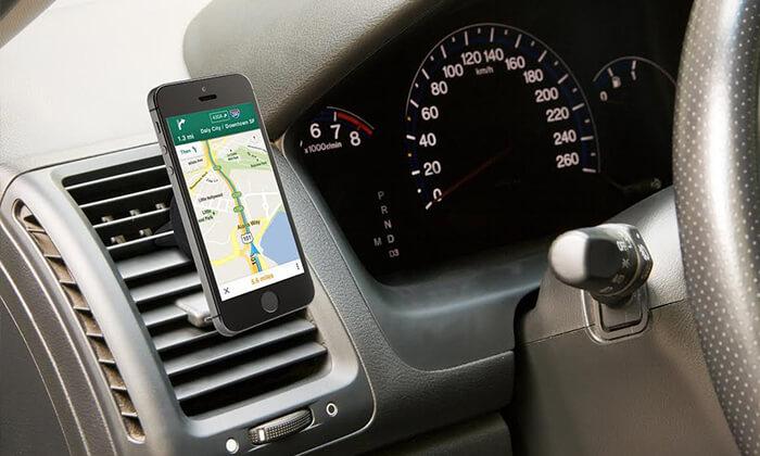 2 מעמד לטלפון הנייד ברכב