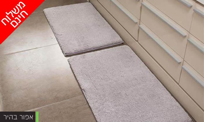 4 זוג שטיחוני אמבטיה - משלוח חינם