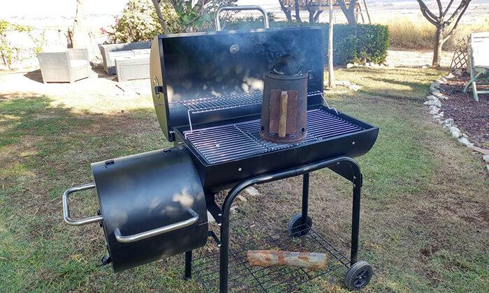 4 מעשנת בשר מקצועית