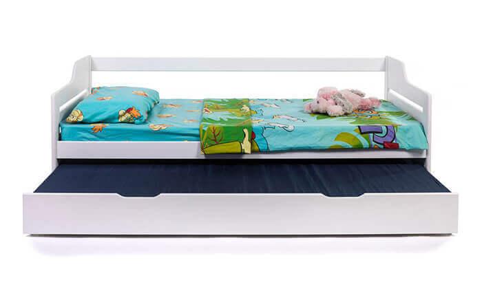 3 מיטת ילדים מעץ מלא BRADEX - משלוח חינם!