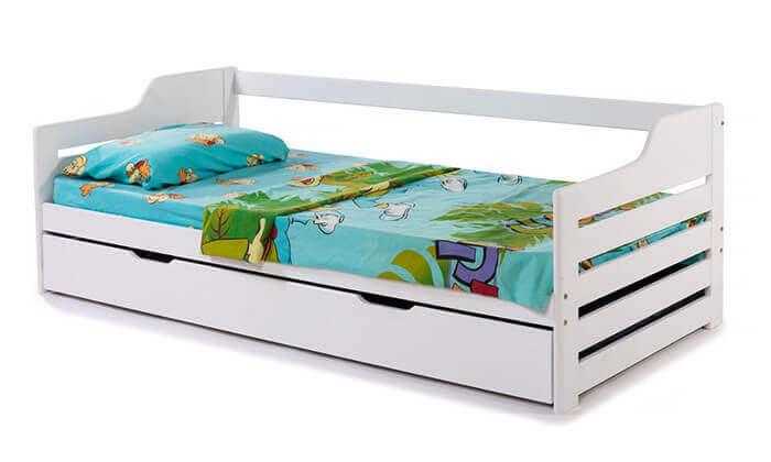 4 מיטת ילדים מעץ מלא BRADEX - משלוח חינם!