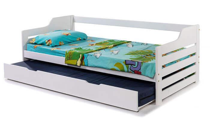 6 מיטת ילדים מעץ מלא BRADEX - משלוח חינם!