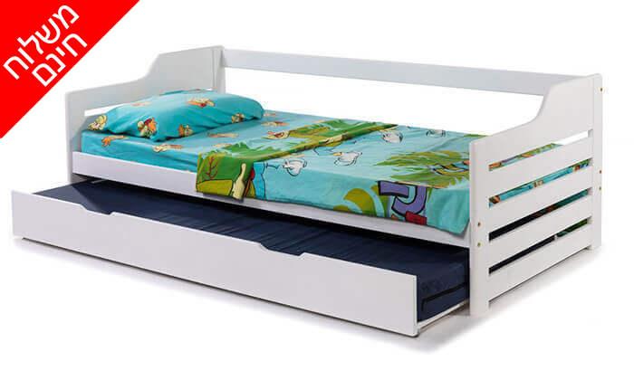 5 מיטת ילדים מעץ מלא