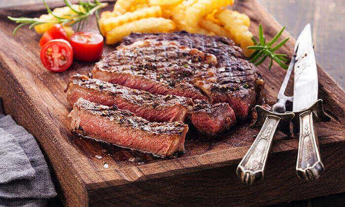 6 דיל חגיגת קיץ: ארוחה זוגית באלומה, מסעדת שף בשרית כשרה, ירושלים